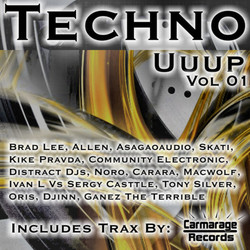 Various Artists - Techno Uuup (unmixed tracks)