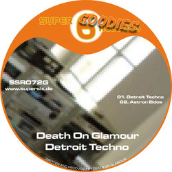 [SSR 072 G] Death on Glamour - Detroit Techno EP