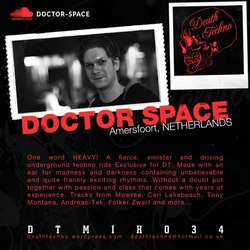 [DTMIX034] Doctor Space - Death Techno Mix 034
