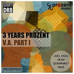 [prozent029] Various Artists - 3 Years Prozent Part One