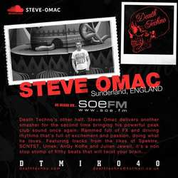 [DTMIX040] Steve Omac  - Death Techno Mix 040