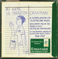[JNN042] Hannah M.G. Shapero - My name is Marietta Cashman